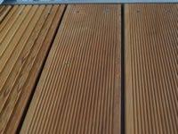 Vzorek terasy z garapy jemné/hrubé drážkování