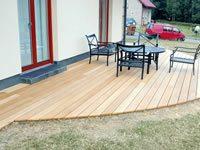 zvolením terasových prken z garapy získáte kvalitní decking s dlouhou životností