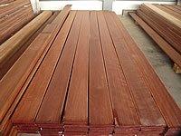 Dřevěná terasová prkna z massaranaduby