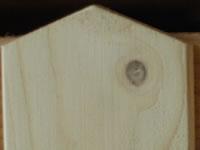 Detail stříšky u plotovky