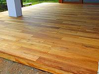 Dřevěná terasová prkna z barmského teaku