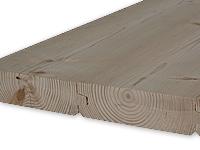 Smrková dřevěná podlaha oboustranná