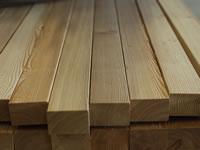 Podkladové latě nejen pod dřevěné terasy ze sibiřského modřínu