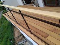garapa je extra tvrdá dřevina s velkou životností