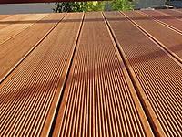 Dřevěná terasová prkna z velice kvalitního merbau