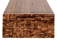 Podkladní hranoly Thermo dřevo borovice