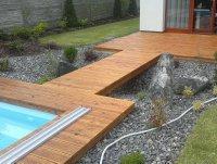 Bez terasového oleje by došlo k šednutí a také ke zkracování životnosti terasových prken