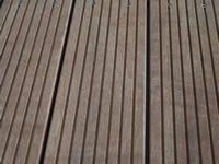 Dřevěná terasa z bukitu