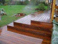 Dřevěná terasa z massaranduby