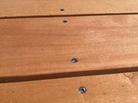 terasová prkna garapa