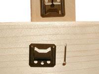 Sponka na palubky číslo 3 = pro palubky se spodní drážkou o velikosti 3 mm