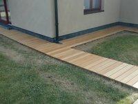 Dřevěná terasa z exotické dřeviny Garapa