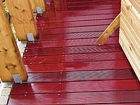 Vlhko svědčí exotickým terasám více než extrémní sucho