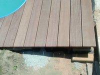 Dřevěná terasa z exotické Massaranduby