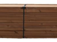 Podkladní hranoly Thermo dřevo borovice boční pohled