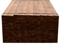 Terasové desky Thermo dřevo borovice 26 x 117 mm