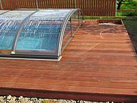 Dřevěná terasová prkna z massaranduby